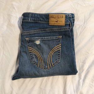 Hollister Destroyed Denim Jeans